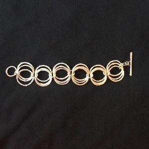 Artisan silver bracelet